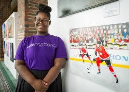Gallery shop teen art program