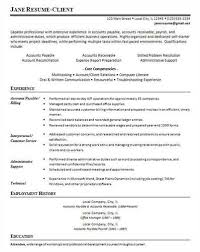 Sample Resume For Accounting Manager Sample Accounts Payable Resume Resumesbesten Hol Es