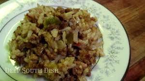 cajun rice dressing dirty rice jamba