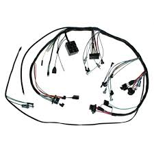 mustang under dash wiring harness w lamps 2spd heater 65 pre 4 1 1965 1993 mustang wiring harness at 93 Mustang Dash Wiring Harness