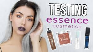testing new essence makeup full face of first impressions