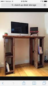 Home Desk:Best Stand Up Desk Ideas On Pinterest Standing Desks Diy Fordents  Home Zen
