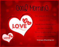 Romantic Good Morning Messages And Quotes 40greetings Fascinating Good Morning My