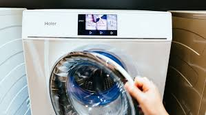 haier stackable washer and dryer. can a double washing machine reduce your laundry time? haier thinks so stackable washer and dryer