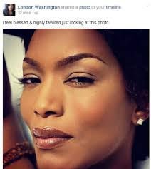 her eyebrows and natural makeup look fierce she is over 50