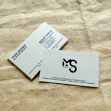 Letterpress Name Card Malaysia 400gsm All Design Solution
