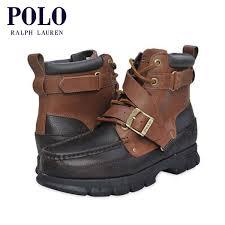 rakuten ichiba mixon polo ralph lauren polo ralph lauren regular article leather boots brown d15s25 rakuten global market