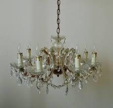 italian murano glass chandelier w beads prisms venetian vintage inside murano glass chandelier italy