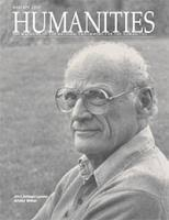 arthur miller biography national endowment for the humanities humanities magazine 2001 cover