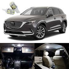 Mazda Cx 9 Dome Light Details About 12 X Xenon White Led Interior Light Package Kit For Mazda Cx 9 Cx9 2016 2019
