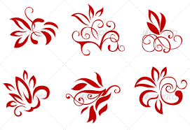 Decoration Design Pattern Floral and flower decorations by seamartini GraphicRiver 2