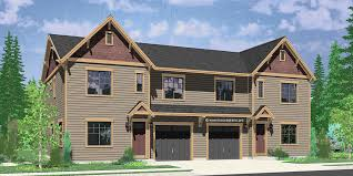 build duplex house plans for small and narrow lots 3 berooms 2 5 for most cost effective