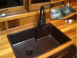 ksp ksfdb in oil rubbed bronze by premier copper drop kitchen sink hammered sink