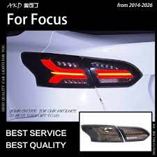 Khoác Dù Kiểu Dáng Xe Cho Xe Ford Focus Đèn Đuôi 2015 2018 Tập Trung Sedan  LED Đuôi Đèn LED DRL Tín Hiệu Phanh đảo Chiều Tự Động Phụ Kiện