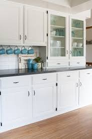 white cottage kitchens. Black And White Farmhouse Kitchen Makeover | The Lily Pad Cottage Kitchens A