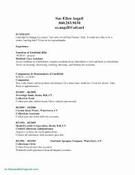 Accounting Resume Objective New Resume Objective Example Awesome Cna