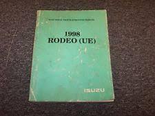 isuzu rodeo manual ebay 1999 Isuzu Rodeo Wiring Diagrams 1998 isuzu rodeo suv electrical wiring diagrams manual book s ls 2 2l 3 2l v6 1999 isuzu rodeo wiring diagram