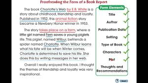 write book report cc how to write a book report proofreading the form of a book report mini