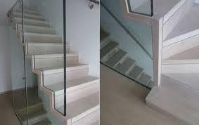 faltwerk slim stair with glass railing