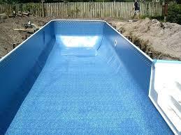 gunite pool cost. Fiberglass Pool Vs Gunite Cost Of A Pools Vinyl Liner And .