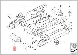 genuine bmw z3 actuator motor for moving seat forward back oem 67318398810 bmw z3 seat rail bushing