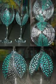 Wine Glass Decorating Designs 100 Painted Wine Glass Ideas To Try This Season 63