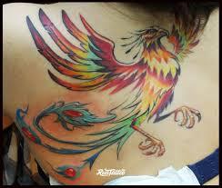 феникс значение татуировок в москве Rustattooru