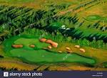 Aerial of Dundarave Golf Course, Cardigan, Prince Edward Island ...