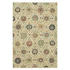 mohawk home stonehaven beige indoor inspirational area rug common 5 x 8 actual