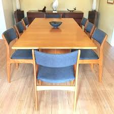 dining tables danish modern dining table set with 8 newly upholstered d scan chairs epoch