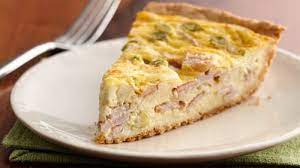 easy cheese and bacon quiche recipe