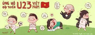 Ảnh chibi cầu thủ U23 Việt Nam khiến mọi người cười lăn