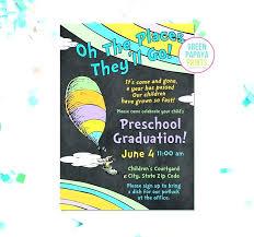 Preschool Graduation Announcements Graduation Invitations Free Invitation Cards