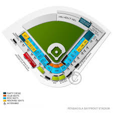 Hancock Stadium Seating Chart Blue Wahoos Stadium 2019 Seating Chart