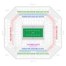 Peach Bowl Seating Chart 2018 Capital One Orange Bowl Suite Rentals Hard Rock Stadium
