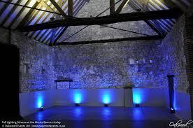 lighting scheme. Colour Changing Uplighting Around The Dance Floor Lighting Scheme