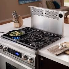 downdraft gas stove. Exellent Gas Dacor Renaissance Epicure ERV3015  Series Downdraft And Gas Stove