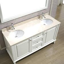 white bathroom vanity without countertop sinks 2 art bathe lily double solid hardwood home improvement astounding