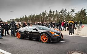 2013 Bugatti Veyron 16.4 Grand Sport Vitesse Top Speed Run - Motor ...