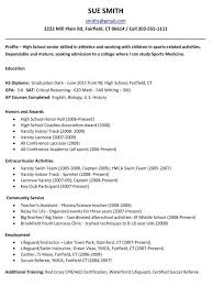 Example Resume For College Admission Music Template Student Sample  regarding Music Resume For College
