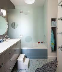 bathroom designs for kids. Imaginative Transluscent Glass Enclosure Creates A Vibrant Look In Cool Blue For The Kids\u0027 Bathroom Designs Kids