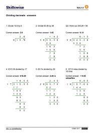 Problem Solving With Decimals Worksheets - Criabooks : Criabooks
