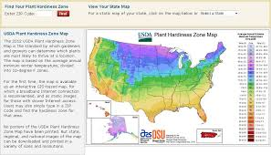 Us Growing Zone Chart Usda Zone Map
