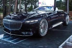 2018 maybach cabriolet. beautiful maybach vision mercedesmaybach 6 cabriolet first look with 2018 maybach cabriolet