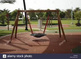 Modern Playground Design A Modern Design For Swing Set With A Bowl For Children To