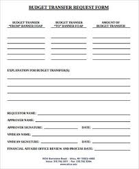 Budget Forms Pdf Sample Budget Request Form 9 Examples In Word Pdf