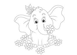 Kleurplaten Baby Olifant Brekelmansadviesgroep
