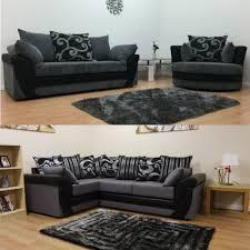 lush fabric corner sofa set