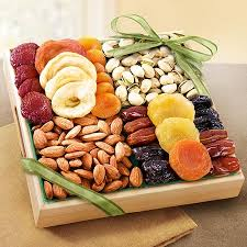 home gift baskets by fruit gifts dried fruit nut tray gift
