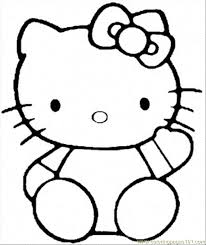 Small Picture Hello Kitty Coloring Pages Pdf Coloring Home